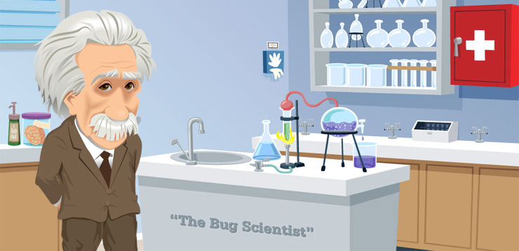 Dr. Bugfield's Bug Experiment